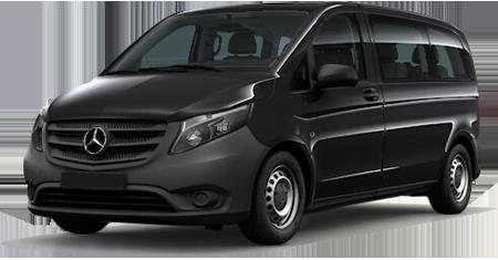 Mini Van taxi Flughafen